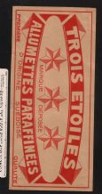 Collctable Match box label extra Large Packet size  #766